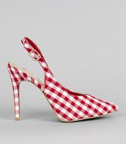 New Look Gingham heels